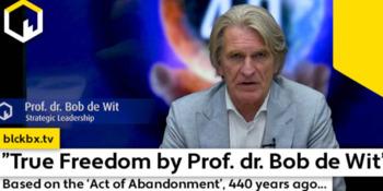 Ware Vrijheid door Strategisch Leiderschap Prof.dr. Dokter Bob de Wit